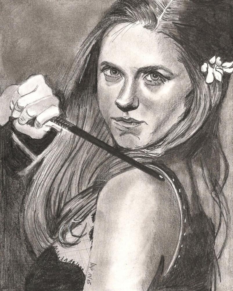 Bonnie Wright by patrick